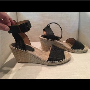 JCREW espadrilles sandals wedges shoes